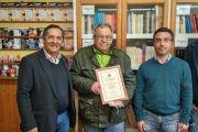 Donación de libros al IES Alixar