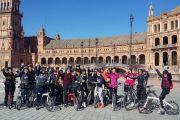 Visita bilingüe cultural en bici por Sevilla